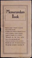 MEMORANDUM  BOOK - INDIANA  HARBOR - MEDICIN On RUSSKI, LIETUVI, SLOVENSKI, ROMANA, MAGYAR, GREEK  - Cc 1900 - Slav Languages