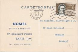 N° 1139 SEUL SUR LETTRE - 1921-1960: Modern Period