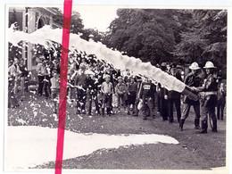 Foto Persfoto - Lint - Brandweer , Nieuwe Brandweerwagen Gedoopt - 17 Sept 1981 - Fotograaf L. Peeters - Sin Clasificación