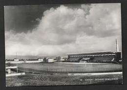 LUCCA STADIO COMUNALE VG. 1950 STADIUM SPORT CALCIO FOOTBALL N° B877 - Lucca
