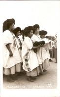 Tarjeta De Mexico, Yalaltecas (Oaxaca), Mujeres Indigenas, Verdadera Foto, Escrita 1955 - Mexique