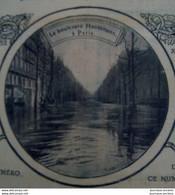 1910 LES INONDATIONS DE PARIS - GARE SAINT LAZARE - AVE MONTAIGNE - RUE DU BAC - ASNIERES - PREFET LEPINE - 1900 - 1949