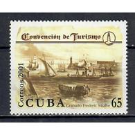 🚩 Discount - Cuba 2001 Cuba 2001 International Tourism Convention, Havana  (MNH)  - Ships, Tourism - Bateaux