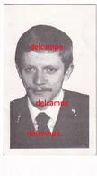 Doodsprentje Rijkswachter Marc Cornelis Ninove Gendarmerie Rijkswacht Haastig Overleden Oostende 1984 Noor Maria Ulin - Images Religieuses