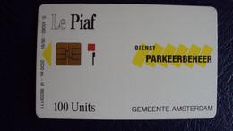 Rare !:Piaf Amsterdam  Chargé 400u - Tarjetas De Estacionamiento (PIAF)