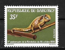 1973 - N° 333** MNH - Anniversaire De La Révolution - Benin – Dahomey (1960-...)