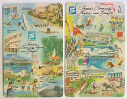Singapore Old Phonecards Unused Singapore Pools Lottery 2 Cards - Singapore