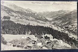 Pany-Prättigau Alte Ortsansicht Gestempelt 1918 - GR Grisons