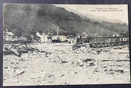 Grütsch Im Prättigau Nach Der Überschwemmung/ Alte Ansicht - GR Grisons