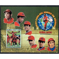 🚩 Discount - Cuba 2003 Baseball World Cup, Cuba  (MNH)  - Sport, Baseball - Blocs-feuillets
