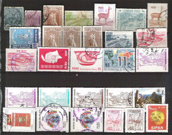 PERU Small Collection Nearly All Cancelled.Many Better Values - Peru