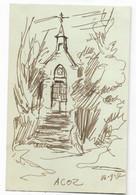 Acoz Dessin De Charles Bury  23/9/1952 - Other
