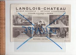 BUVARD : LANGLOIS CHATEAU Vin Saumur Mousseux Méthode Champenoise SAINT HILAIRE ST FLORENT Maine Et Loire - L