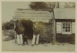 (Ardennes) Rocroi. Un Poste De Douaniers. Douane. 19 Août 1893. - Old (before 1900)