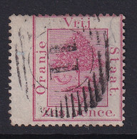 Orange Free State: 1868/94   Orange Tree    SG5   6d   Rose    Used - Estado Libre De Orange (1868-1909)