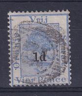 Orange Free State: 1890/91   Orange Tree - Surcharge    SG57   1d On 4d     Used - Estado Libre De Orange (1868-1909)