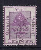 Orange Free State: 1894   Orange Tree   SG68   1d      Used - Estado Libre De Orange (1868-1909)