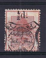 Orange Free State: 1895   Orange Tree With State Arms OVPT   SG P8   ½d On ½d   Used - Estado Libre De Orange (1868-1909)