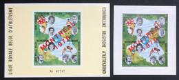België, 1973, E127A, Ongetand + Luxevelletje, Postfris **, OBP 12€ - Erinnophilie - Reklamemarken