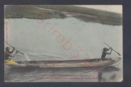 Afrique Occidentale - Dahomey - Pirogue Sur La Lagune Entre Cotonou Et Porto-Novo - Postkaart - Benin