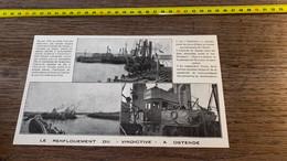 1920 PATI Renflouement Du Vindictive à Ostende Commodore Young - Unclassified