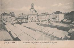 93.CHARLEROI. EGLISE DE LA VILLE HAUTE ET LA FOIRE - Charleroi