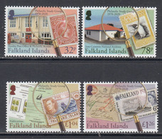2020 Falkland Islands Philatelic Study Group Stamps On Stamps Philately Complete Set Of 4 MNH @ BELOW FACE VALUE - Islas Malvinas