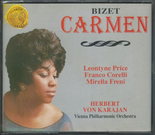 """3 CD+44-/- GEORGES BIZET """" CARMEN """" Par H.V. KARAJAN - TBE, VOIR IMAGE VERSO POUR  LES INTERPRETES- DETAIL SUR DEMANDE - Opere"""