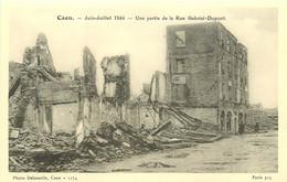 14 , CAEN , Juin-Juillet 1944 , N° 1174 , Rue Gabriel Dupont , * 287 50 - Caen