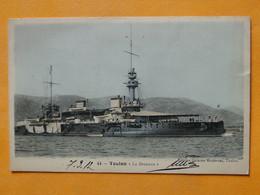 """Marine De Guerre -- TOULON --  Le Cuirassé """" BRENNUS """" - 1891 - 1919 - Guerra"""