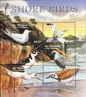 St Vincent 2001 Shore Birds Sheetlet MNH - Unclassified