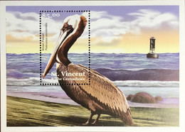 St Vincent 2001 Shore Birds Minisheet MNH - Unclassified