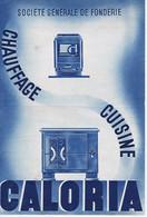GIRONDE - BORDEAUX - CALORIA - Chauffage - Cuisine - Appareils à Gaz - 171 Rue D'Ornano - Advertising