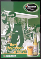 Heineken Bier By Night Carte Postale - Modernes (à Partir De 1961)