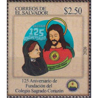 🚩 Discount - Salvador 2020 125th Anniversary Of The Sacred Heart College  (MNH)  - Education, Religion - Non Classés