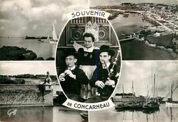 CPSM Souvenir De Concarneau-Multivues    L873 - Concarneau