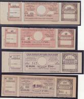 FRANCE : COLIS POSTAUX . DE PARIS POUR PARIS . 8 EX . ENTRE N° 41 Et 45 C . ( CERES ) . 1903/10 . - Nuovi