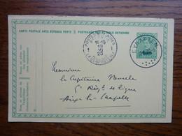 1920 Carte Postale  Entier Postal 10c  EUPEN  Cachet  HERGENRATH Et Postes Militaires     PERFECT - Postcards [1909-34]