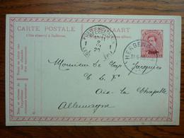 1920 Carte Postale  Entier Postal 10c  EUPEN  Cachet  HERGENRATH Et Postes Militaires     PERFECT - Cartoline [1909-34]