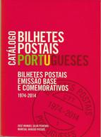 Portugal , Catálogo Bilhetes Postais 1974-2014 , Postal Stationery Catalogue , 2014 Edition , 219 Pages , Unused - Enteros Postales