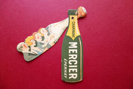 Champagne Mercier Epernay Pubblicità Mobile A Colori Illustrata Primo '900 - Non Classificati