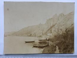 21 AC - Grande Photos Dinant Roche Bayard,  Papier Albumine ? Sur Carton Rigide - Ancianas (antes De 1900)