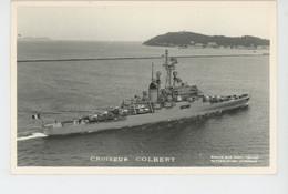 BATEAUX - Marius Bar Photo. TOULON - Croiseur COLBERT - Warships