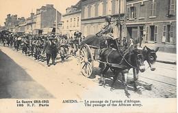 A/385               80        Amiens           Le Passage De L'armée D'afrique - Amiens