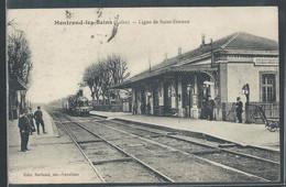 CPA 42 - Montrond-les-Bains, Ligne De Saint-Etienne - Autres Communes