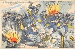 """MILITARIA """"1915. """"La Fameuse Charge Des Fusiliers Marins à DIXMUDE. 2 SCANS - Unclassified"""
