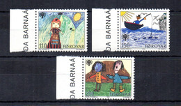 Foroyar (Danimarca) - 1979 - Anno Internazionale Del Fanciullo - 3 Valori - Nuovi ** - Con Bordo Di Foglio - (FDC31537) - Local Post Stamps