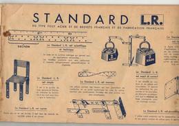Manuel Standard L.R Du Type Tout Acier Et De Brevets Français Et De Fabrication Française Boite 1.2.3 Manque Couverture - Non Classificati