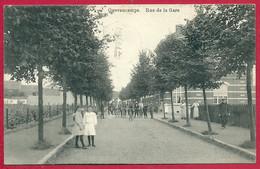 C.P.  Quevaucamps =   Rue  De La GARE - Beloeil
