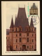 27 - Gaillon - TàMoi Réouverture Du Chateau De Gaillon Sur CP Obl 1er Jour 2018 - Personalized Stamps (MonTimbraMoi)